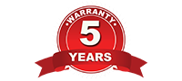 Five Years warranty on furniture